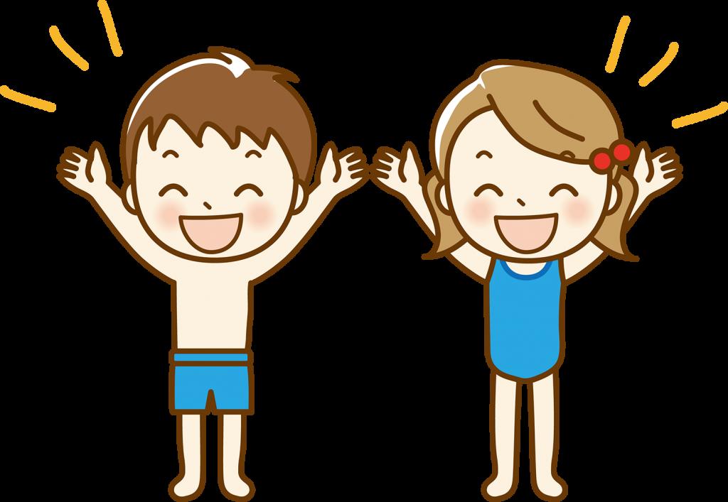 小学生の水泳指導
